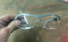 NORTH CLEAR SAFETY GLASSES, GREY FRAMES, T57005GRY, EYE PROTECTION
