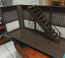"GD-01-1/12: FIGLot Paper-craft Diorama 1/12 scale Dojo with Stair for 6"" figures"