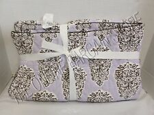 Pottery Barn Kids Meredith Boho Bed Baby Nursery Toddler Quilt Lavender Paisley