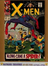 Uncanny X-Men #35 (5.0) VG/Fine Spider-Man Appearance 1967 Silver Age Key Issue