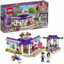 41336 LEGO FRIENDS IL CAFFE' DEGLI ARTISTI DI EMMA 378 PEZZI 6 12 ANNI SIGILLATO