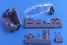 Articoli di modellismo statico aereo militare in resina, scala 1:72