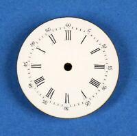 Zifferblatt f Taschenuhr Uhr EMAIL TASCHENUHRZIFFERBLATT D28,8 pocket watch dial