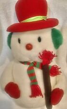 "YES CLUB Plush Stuffed Snowman 18"""