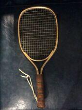 Vintage Leach Racket Racquetball Racquet Gold Tennis