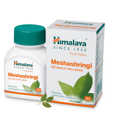Himalaya Herbs Meshashringi Regulates Carbohydrate Metabolism Wellness 60 Tabs