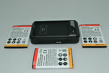 LG G3 Battery x 3 + Wall Charger BL-53YH VS985 F400 D830 D850 D851 D855 LS990