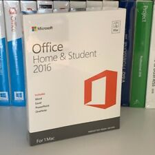 Microsoft Office 2016 Home Student 1 Mac-Word, Excel, PowerPoint 100% Original