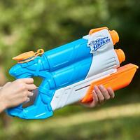 Brand New NERF Super Soaker TWIN TIDE Blaster ~ Water Pistol