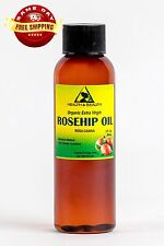 ROSEHIP SEED OIL UNREFINED ORGANIC by H&B Oils Center COLD PRESSED PURE 2 OZ