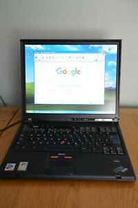 IBM ThinkPad T42 (2373), Pentium M 1.7GHz 1.25GB RAM 36GB HDD, ATI Radeon 7500