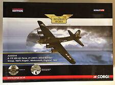 CORGI AVIATION ARCHIVE AA33314 HELLS ANGELS 1:72  B-17f, 8th AIR FORCE WW2 ~ EXC
