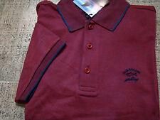Herren Poloshirt PAUL & SHARK Kurzarm im Bordeaux/ Gr.2XL