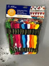 New J&P jumbo pack Coats Cotton Embroidery Cross Stitch Floss Thread 105 skeins