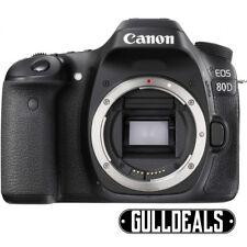BRAND NEW Canon EOS 80D 24.2MP Digital SLR Camera Black (Body Only) UK DISPATCH