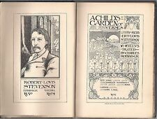 """ROBERT LOUIS STEVENSON """"A Child's Garden of Verses"""" (1895) FIRST EDITION"""