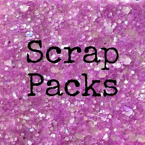 Scrap Pack - Choose from Glitter, Faux Leather, Felt, HTV