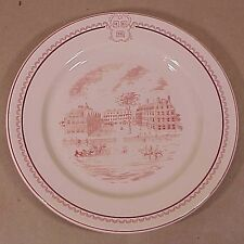 Scarce Circa 1940 Harvard University Dinner Plate Shenango China