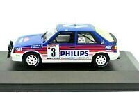 Coche Auto Renault 11 Rally Escala 1/43 diecast IXO miniaturas Rallye R11