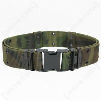 Woodland Camo LC2 Pistol BELT US Military ALICE LC-2 Webbing Army - All Sizes