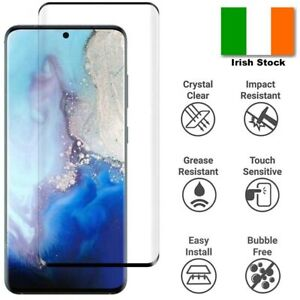 Tempered Glass Screen Protector for Samsung S8 S9 S10 S20-21 A10 A20E A40 A50-51