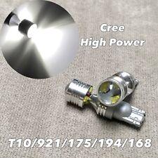 Reverse Backup light T10 T15 921 168 194 175 6000K Xenon White XBD LED Bulb W1 J