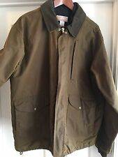 Pre Owned: Filson Oiled Shelter Jacket, Men's XL, WITH Wool Vest