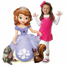 121cm Tall Sofia The First Giant AirWalker Foil Balloon Pose Standing Princess