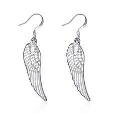 925Sterling Silver Fashion Jewelry Accessories Lovely Wing Women Earrings EY953