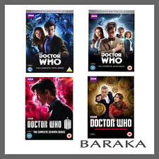 Doctor Who Complete Seasons Series 5, 6, 7 & 8 DVD New Sealed