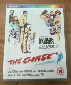 The Chase / Limited Edition / Booklet / Indicator / Blu Ray + DVD / Region A B C