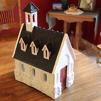 Dept 56 Merry Makers Church Paper Mache #93599 NIB Retired
