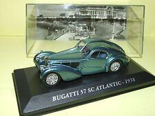 BUGATTI 57 SC ATLANTIC 1938 1/43 IXO  E103