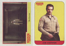 STRANGER THINGS SEASON 1 COMPLETE 100 CARD BASE SET + 20 STICKER SET + WRAPPER