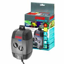 Eheim Air Pump 200 Luftpumpe 3,5W 200 l/h regelbar incl. Ausströmer Luftschlauch