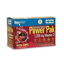 Trace Mineral Research Electrolyte Stamina Power Pak Mixed Berry 30 Packets