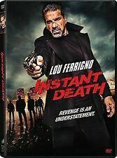 Instant Death DVD 2017 Lou Ferrigno New