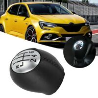 6 Perilla de cambio Pomo Palanca Cambios Para Renault Megane III 328650005R Set