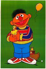VINTAGE POSTER~Sesame Street Ernie Bert 1979 Original 2-Sided 24x36 OOP Rare