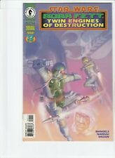 STAR WARS : BOBA FETT : TWIN ENGINES OF DESTRUCTION # 1 !! MANDALORIAN 1997