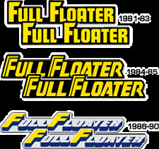 1981-1990 Suzuki RM 125 250 465 500 Full Floater Swingarm Decals