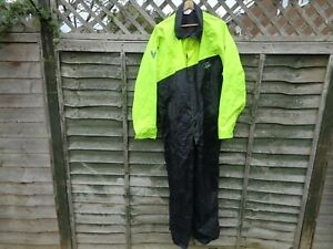 Frank Thomas Aquapak Large One Piece Waterproof Over Suit Motorbike Motorcycle