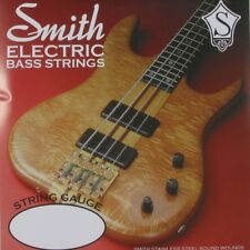 Ken Smith TCRM Taper Core Electric Bass Guitar Strings, Medium (44-106) +Picks