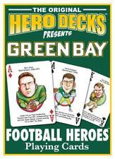 NEW! Green Bay Packers Football Heros Original Hero Deck Playing Cards Fan Gift