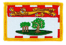FLAG PATCH PATCHES PRINCE EDWARD ISLAND PROVINCIAL IRON ON EMBROIDERED CANADA