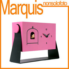 """orologio a cucù art.152 4003 """" mi dondolo """" Pirondini  6 colori disponibili"""