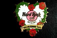 HRC Hard Rock Cafe Miami Valentines Day 2002 LE200  XL Fotos