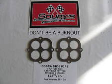 Cobra Side Pipe Exhaust Gaskets (fits BBK & others)