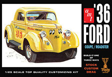 1/25 AMT824 1936 Ford Coupe  Plastic Model Kit