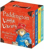 Paddington Little Library by Michael Bond Set of 4 Board Books